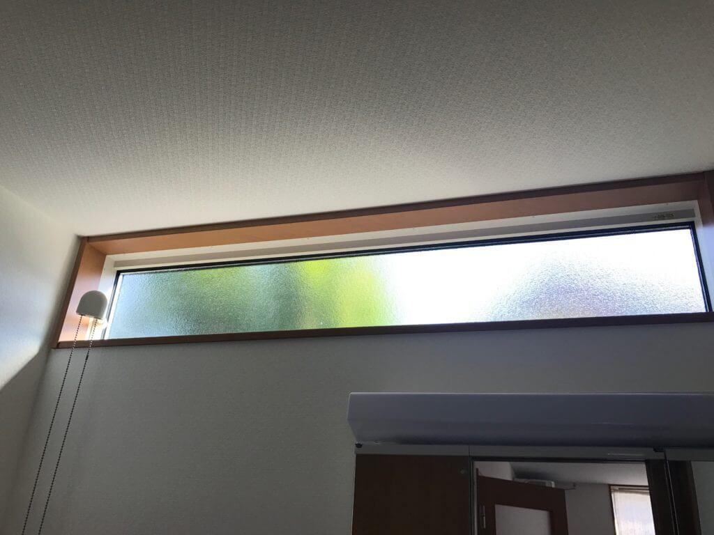 洗面所の窓