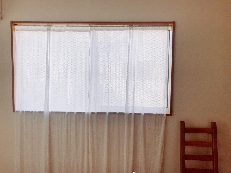 一戸建ての窓