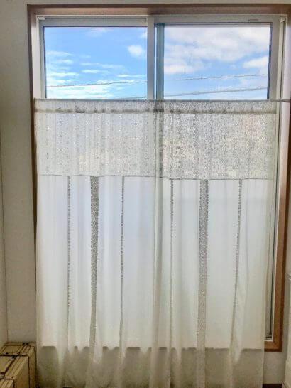 つっぱつぼうで取り付けたカーテン