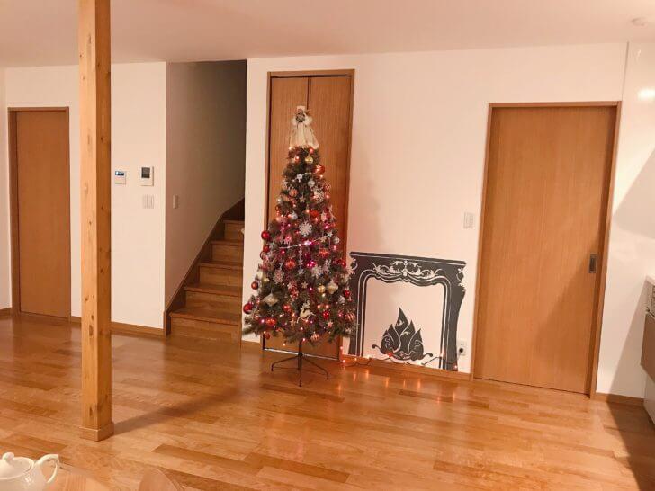 飾り付けされたアルザスのクリスマスツリー