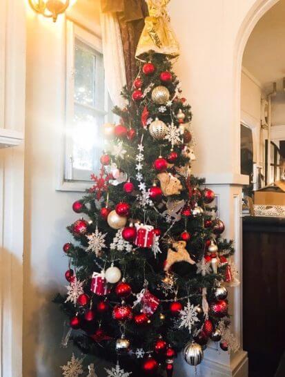 えの木ていのクリスマスツリー