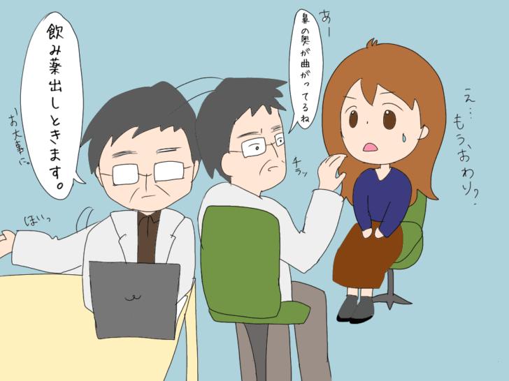 耳鼻科の診察