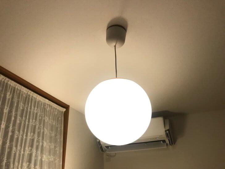 イケアの照明FADOファード