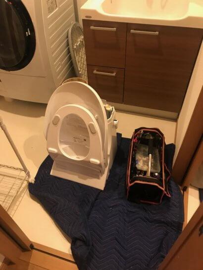 壊れたトイレの便座ヒーター