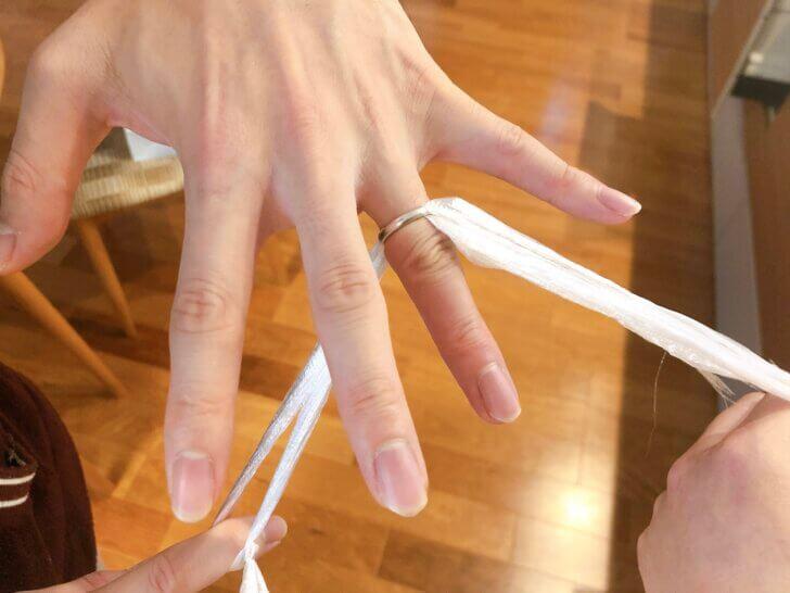 指輪が抜けない