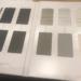 窓サッシはLIXILサーモスL。アルミと樹脂のハイブリッドで優秀。色も見比べて見ました